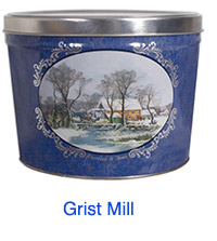 Grist Mill 2 Gallon Popcorn Tin