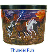 Thunder Run 2 Gallon Popcorn Tin