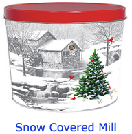 Snow Covered Mill