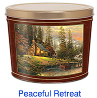 Peaceful Retreat 2 Gallon Popcorn Tin