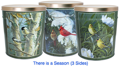 There is a Season 3 1/2 Gallon Popcorn Tin